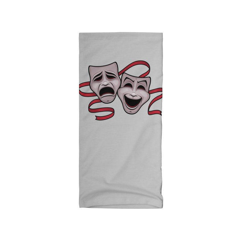 Comedy And Tragedy Theater Masks Accessories Neck Gaiter by Fizzgig's Artist Shop