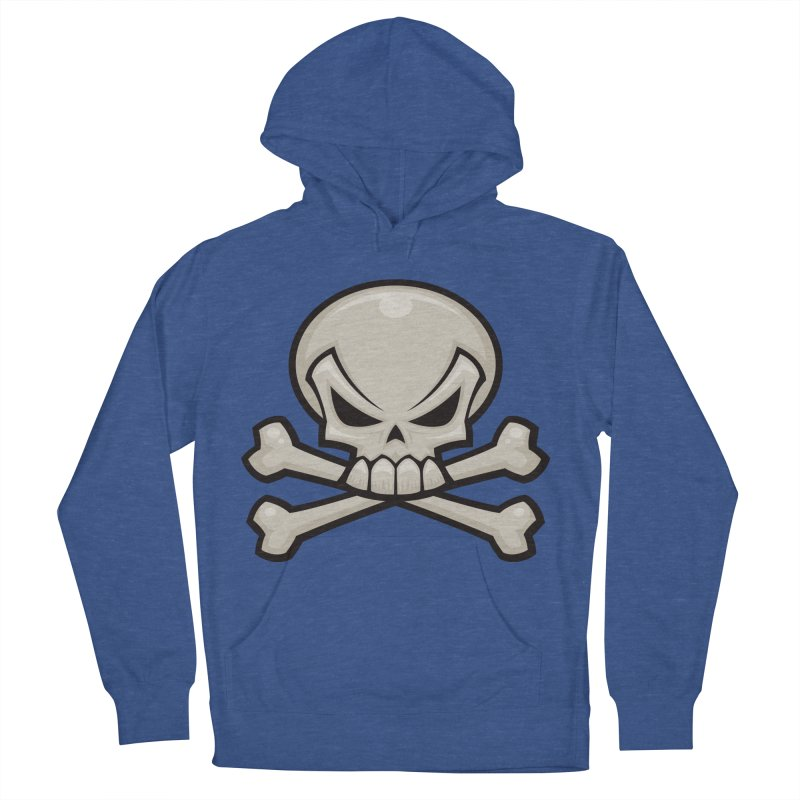Skull and Crossbones Men's Pullover Hoody by Fizzgig's Artist Shop