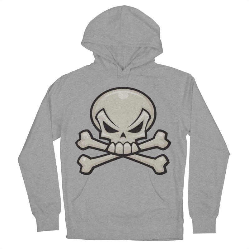 Skull and Crossbones Men's Pullover Hoody by Fizzgig's Artist Shop