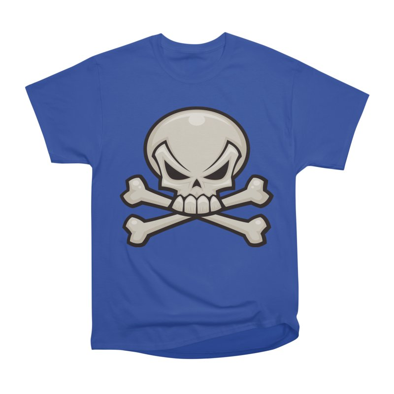 Skull and Crossbones Women's Classic Unisex T-Shirt by Fizzgig's Artist Shop
