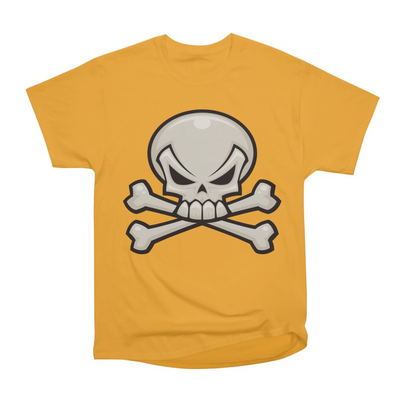 Skull and Crossbones Men's Classic T-Shirt by Fizzgig's Artist Shop