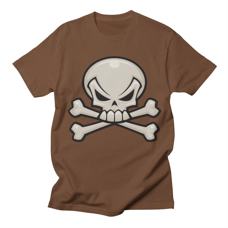 Skull and Crossbones Women's Unisex T-Shirt by Fizzgig's Artist Shop