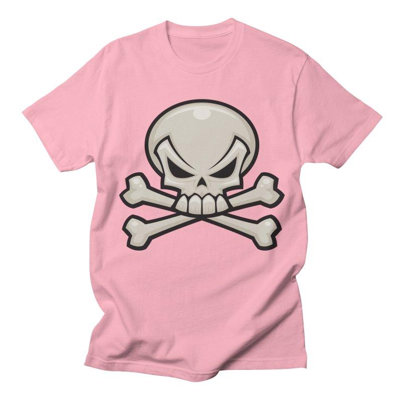Skull and Crossbones Men's T-shirt by Fizzgig's Artist Shop