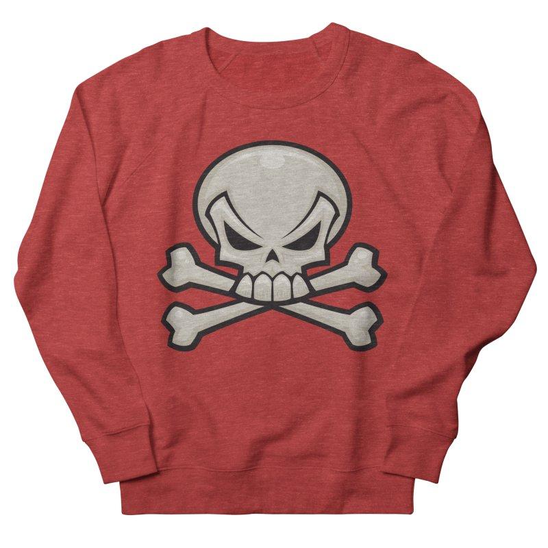 Skull and Crossbones Women's Sweatshirt by Fizzgig's Artist Shop