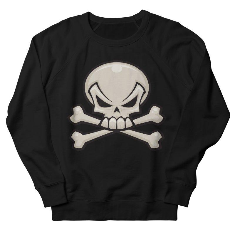 Skull and Crossbones Men's Sweatshirt by Fizzgig's Artist Shop