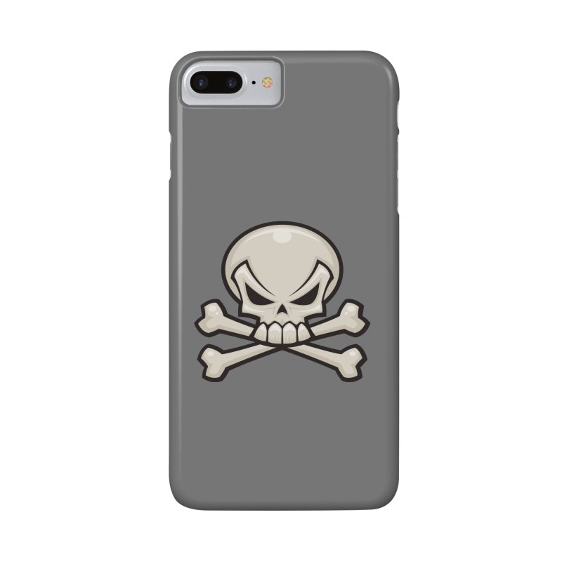 Skull and Crossbones Accessories Phone Case by Fizzgig's Artist Shop