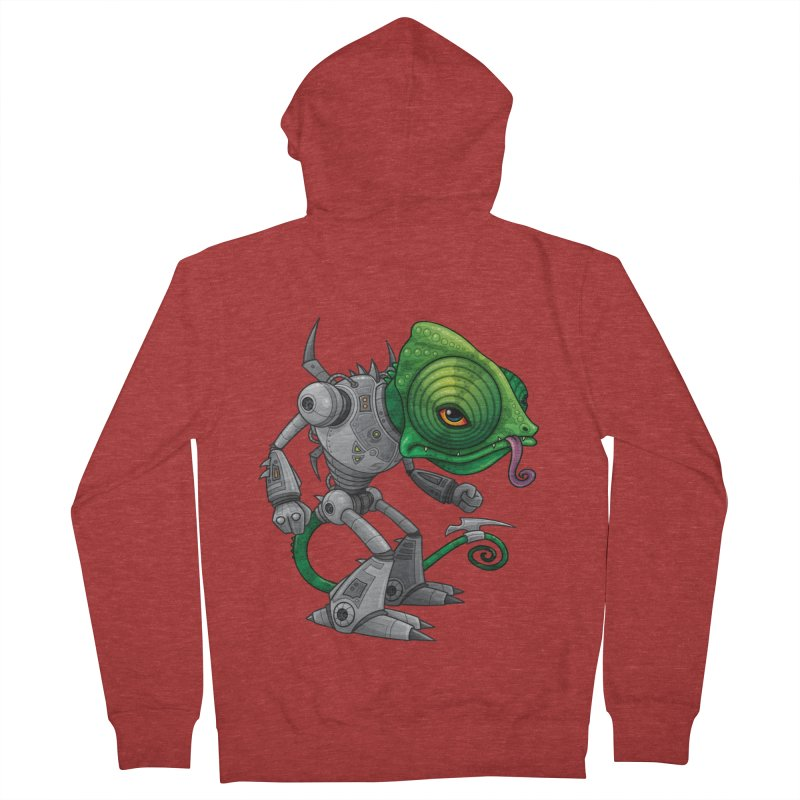 Chameleozoid Women's Zip-Up Hoody by Fizzgig's Artist Shop