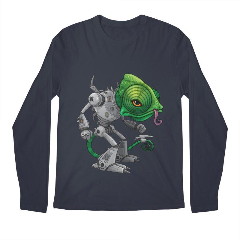 Chameleozoid Men's Longsleeve T-Shirt by Fizzgig's Artist Shop