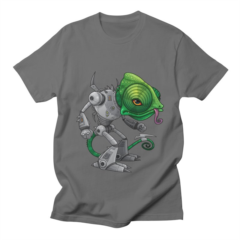 Chameleozoid Men's T-shirt by Fizzgig's Artist Shop