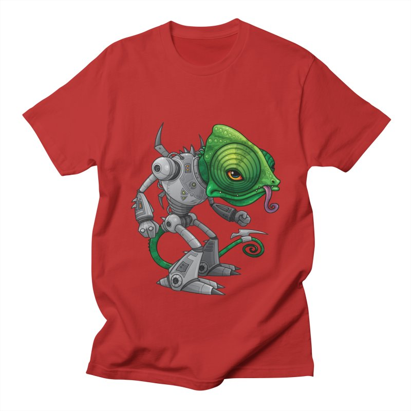 Chameleozoid Men's T-shirt by Fizzgig's Artist Shop