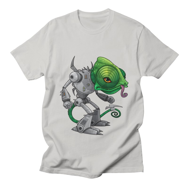 Chameleozoid Women's Unisex T-Shirt by Fizzgig's Artist Shop