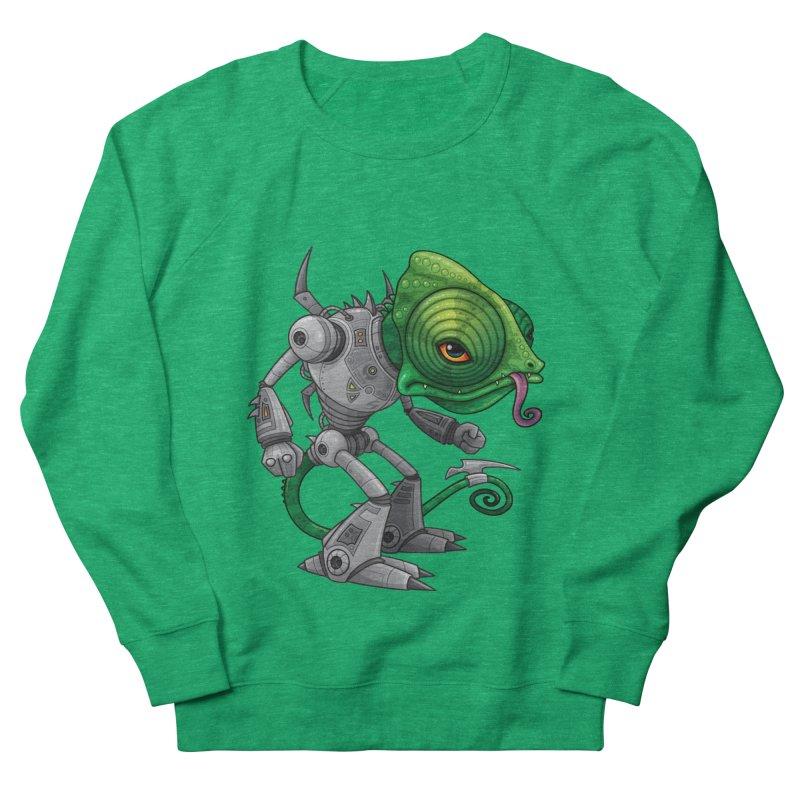 Chameleozoid Men's Sweatshirt by Fizzgig's Artist Shop