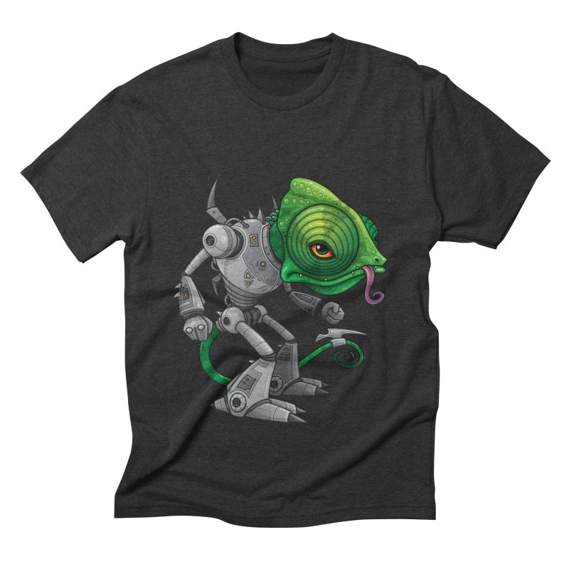 Chameleozoid Men's Triblend T-Shirt by Fizzgig's Artist Shop