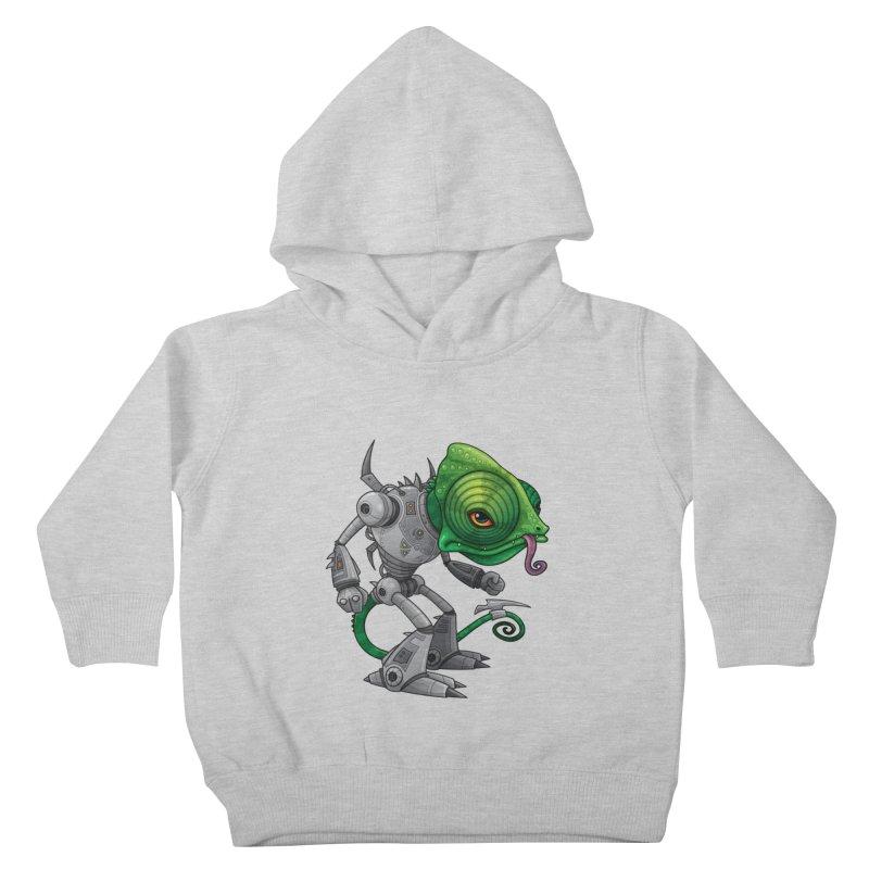 Chameleozoid Kids Toddler Pullover Hoody by Fizzgig's Artist Shop