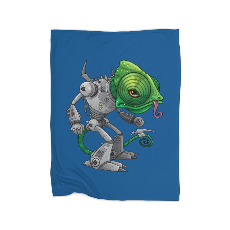 Chameleozoid Home Blanket by Fizzgig's Artist Shop