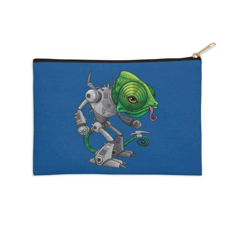 Chameleozoid Accessories Zip Pouch by Fizzgig's Artist Shop