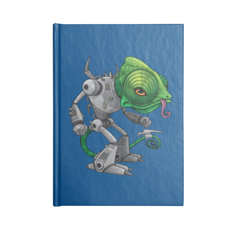 Chameleozoid Accessories Notebook by Fizzgig's Artist Shop