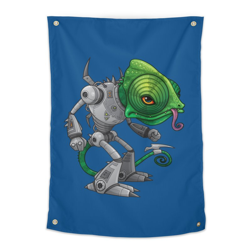 Chameleozoid Home Tapestry by Fizzgig's Artist Shop