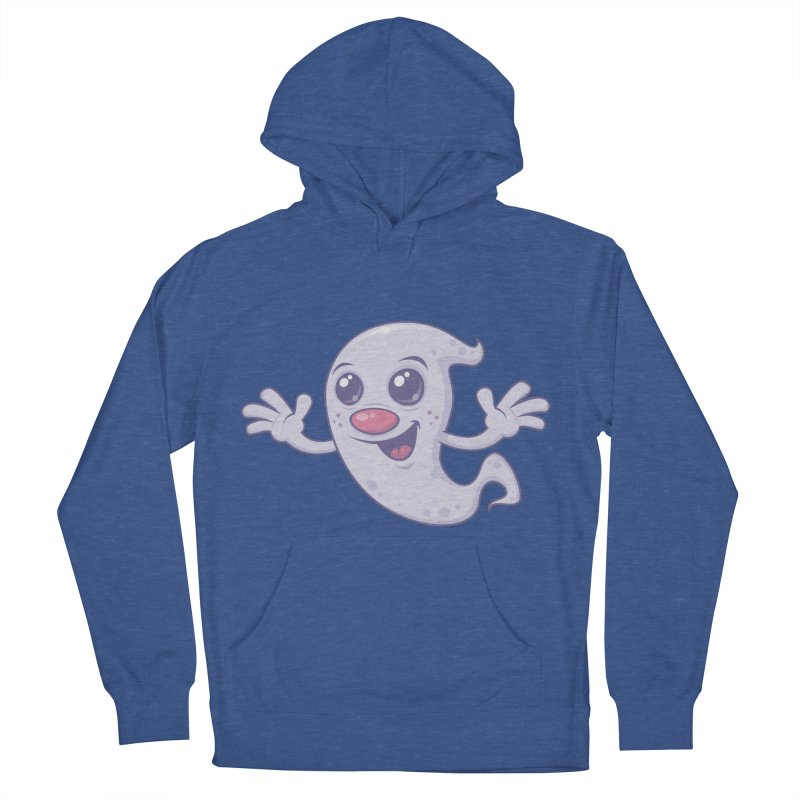 Cute Retro Ghost Women's Pullover Hoody by Fizzgig's Artist Shop