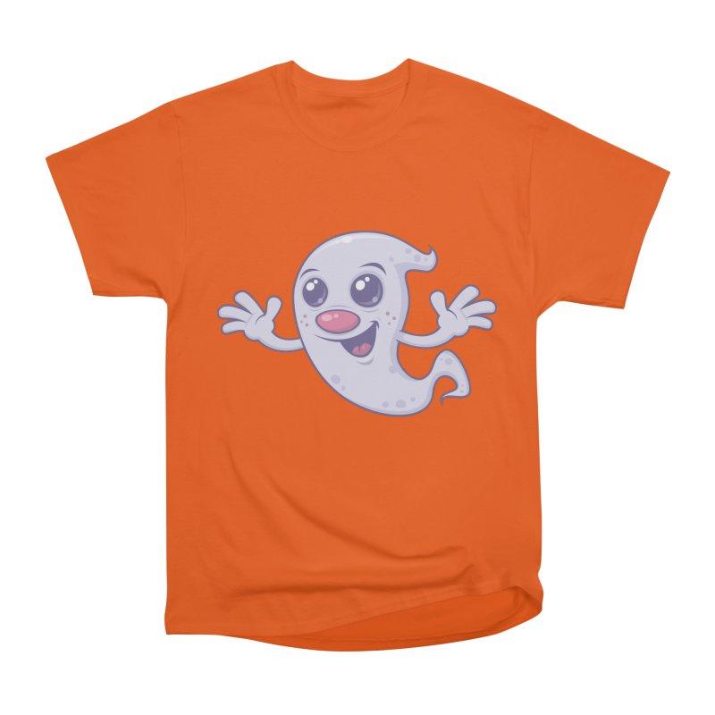 Cute Retro Ghost Men's Classic T-Shirt by Fizzgig's Artist Shop