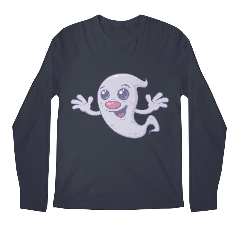 Cute Retro Ghost   by Fizzgig's Artist Shop