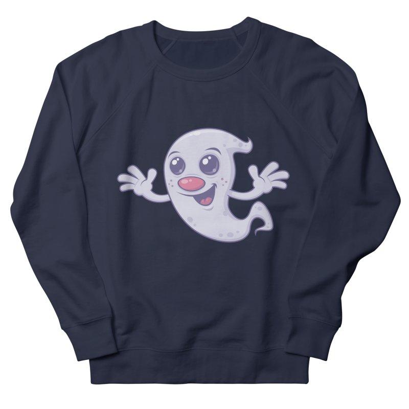 Cute Retro Ghost   by Fizzgig's Artist Shop