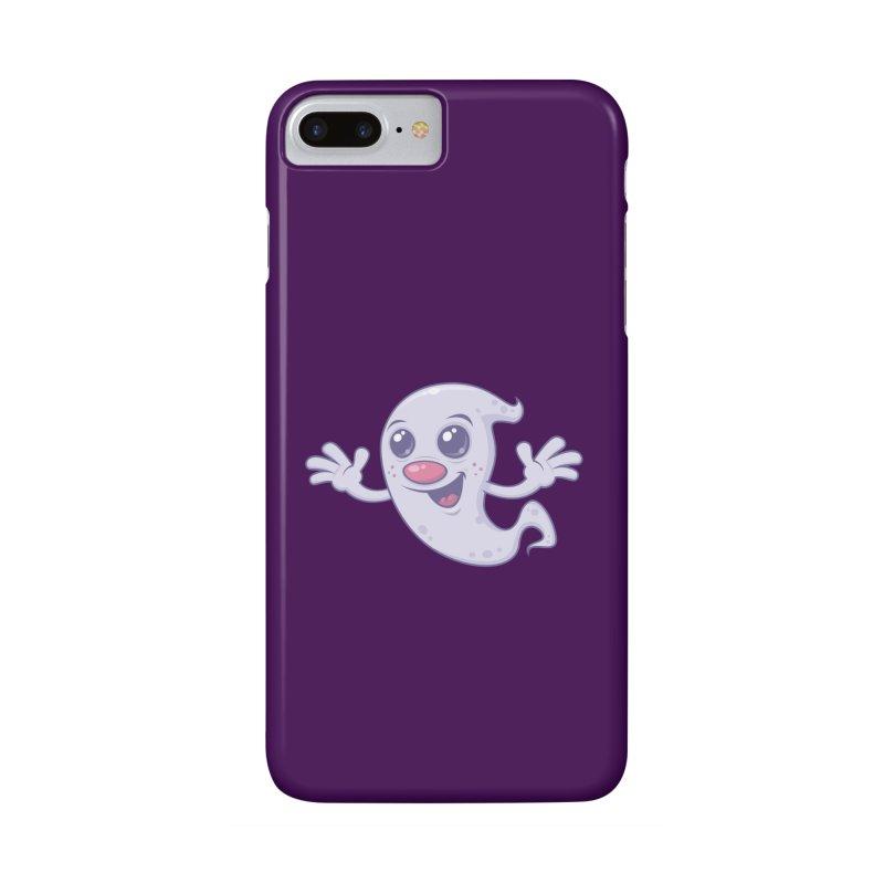 Cute Retro Ghost Accessories Phone Case by Fizzgig's Artist Shop