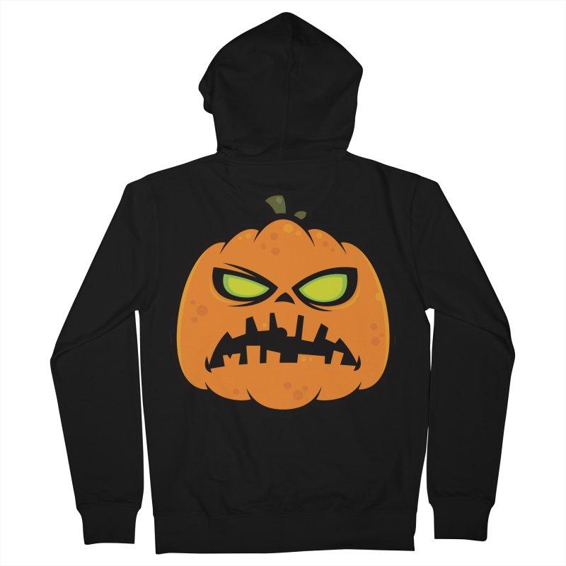 Pumpkin Zombie Women's Zip-Up Hoody by Fizzgig's Artist Shop