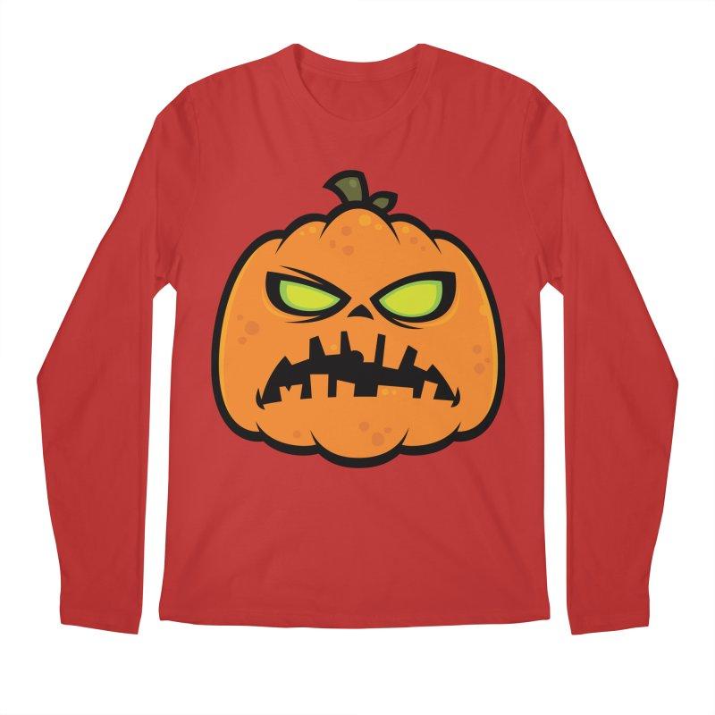 Pumpkin Zombie Men's Longsleeve T-Shirt by Fizzgig's Artist Shop