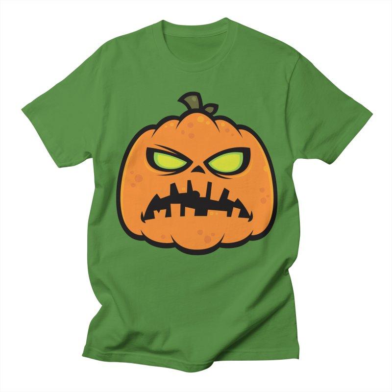 Pumpkin Zombie Women's Unisex T-Shirt by Fizzgig's Artist Shop