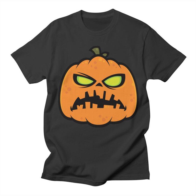 Pumpkin Zombie Men's T-shirt by Fizzgig's Artist Shop