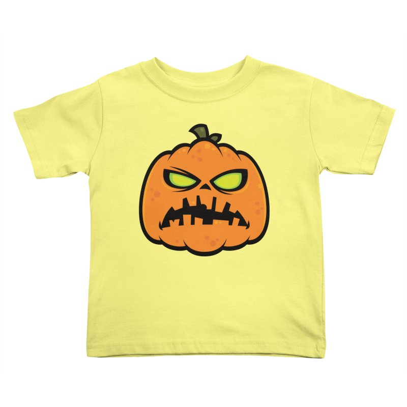 Pumpkin Zombie Kids Toddler T-Shirt by Fizzgig's Artist Shop