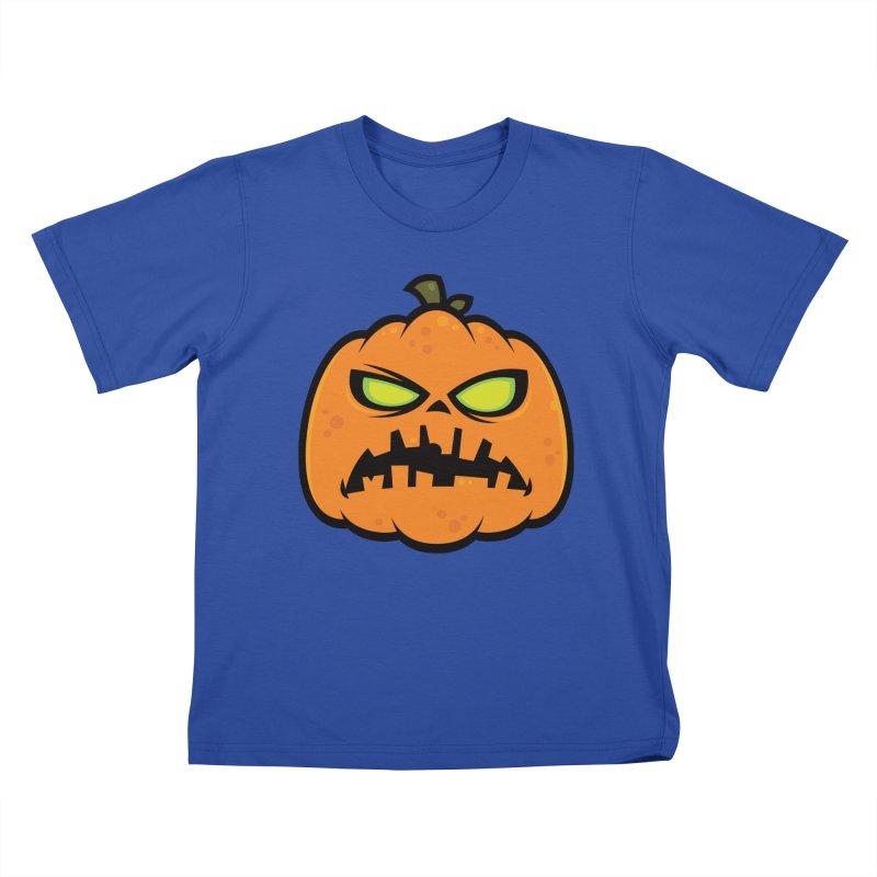 Pumpkin Zombie Kids T-shirt by Fizzgig's Artist Shop