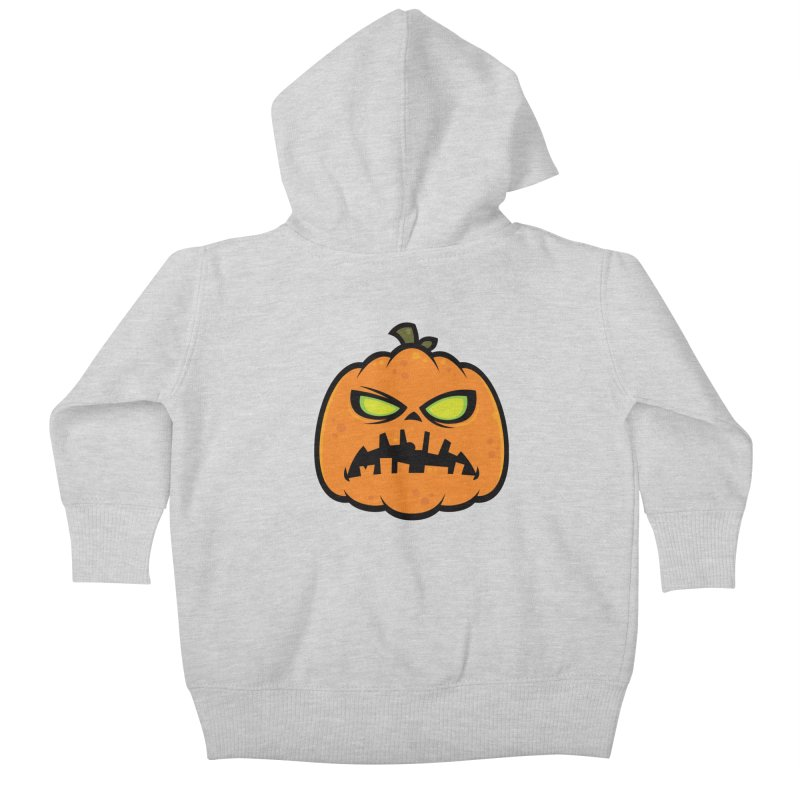 Pumpkin Zombie Kids Baby Zip-Up Hoody by Fizzgig's Artist Shop