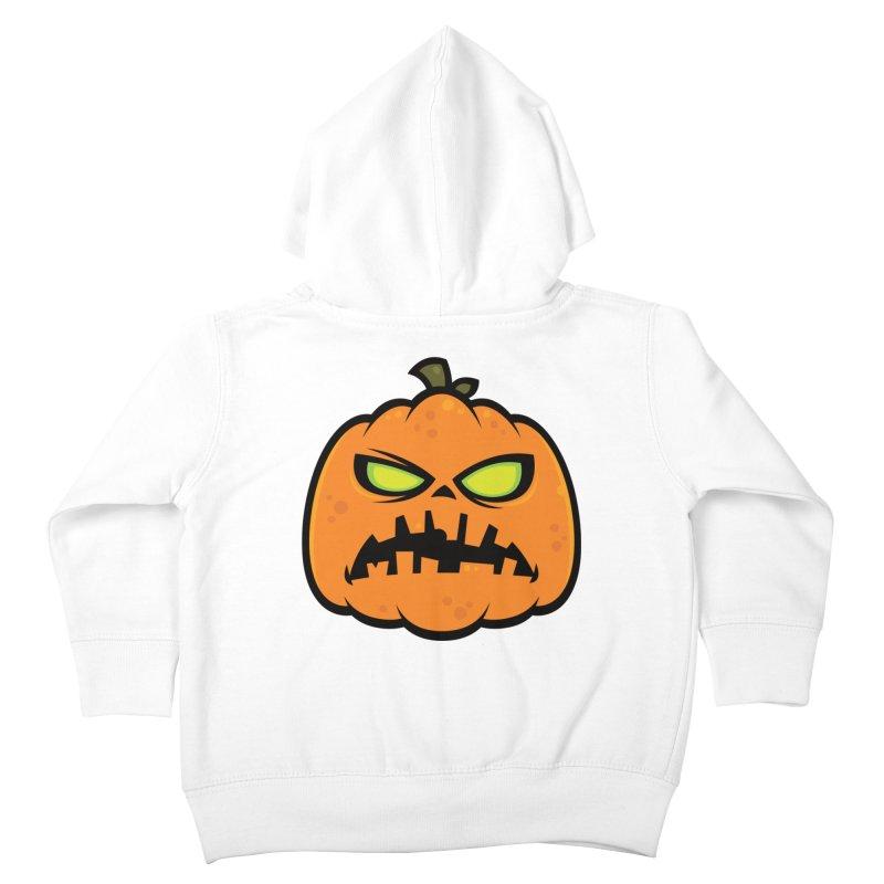 Pumpkin Zombie Kids Toddler Zip-Up Hoody by Fizzgig's Artist Shop