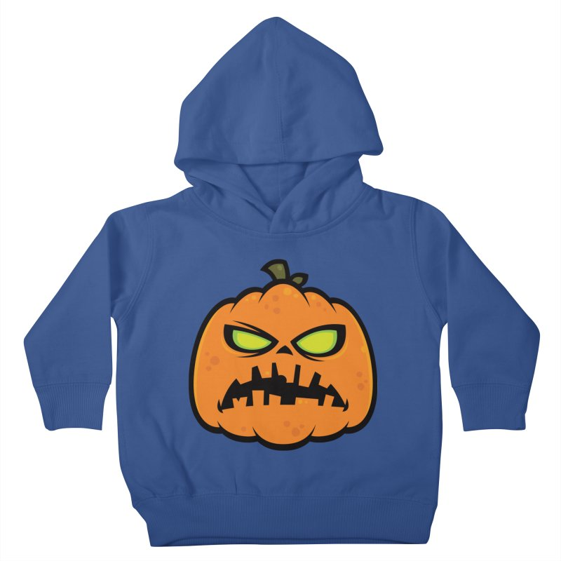 Pumpkin Zombie Kids Toddler Pullover Hoody by Fizzgig's Artist Shop