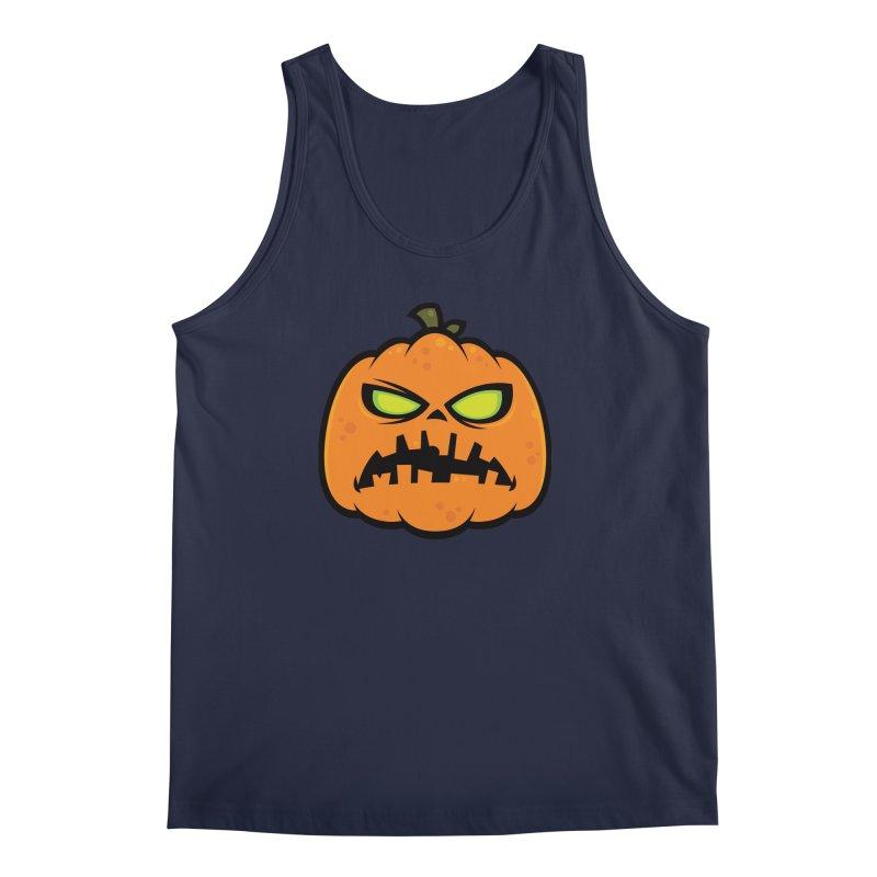 Pumpkin Zombie Men's Tank by Fizzgig's Artist Shop