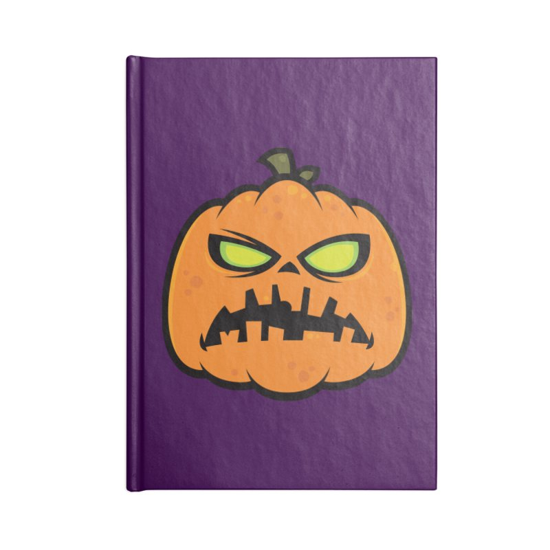 Pumpkin Zombie Accessories Notebook by Fizzgig's Artist Shop