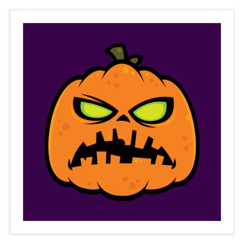 Pumpkin Zombie Home Fine Art Print by Fizzgig's Artist Shop