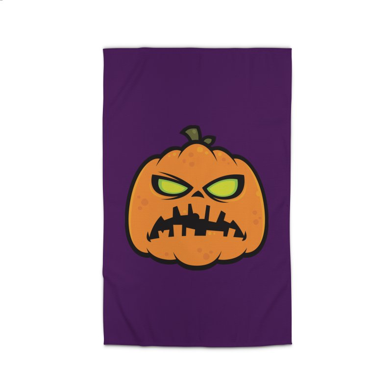 Pumpkin Zombie Home Rug by Fizzgig's Artist Shop