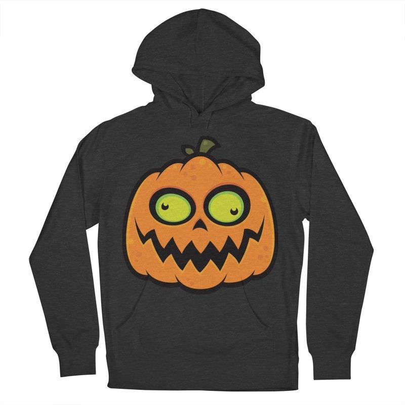 Crazy Pumpkin Men's Pullover Hoody by Fizzgig's Artist Shop