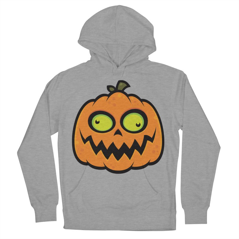 Crazy Pumpkin Men's Pullover Hoody by Fizzgig's Artist Shop