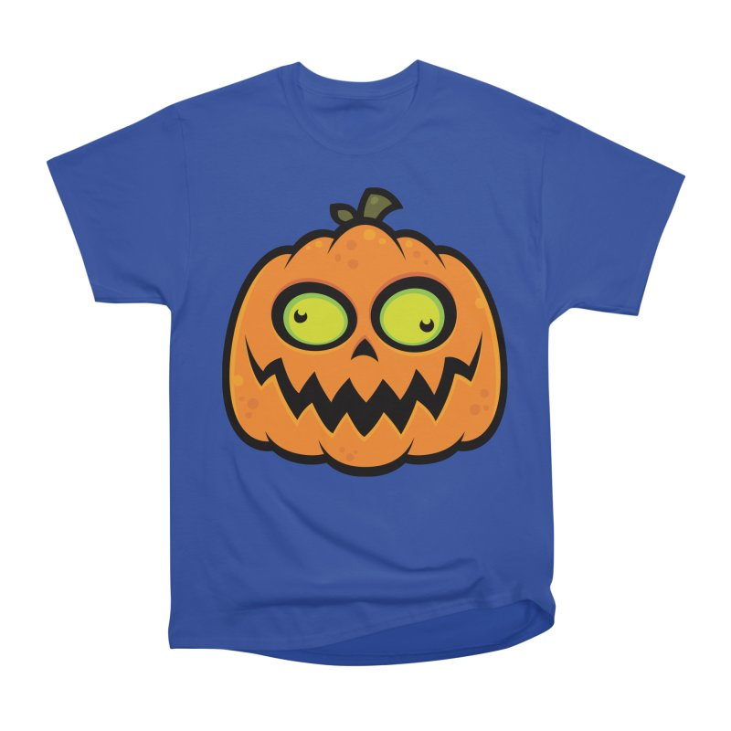 Crazy Pumpkin Women's Classic Unisex T-Shirt by Fizzgig's Artist Shop