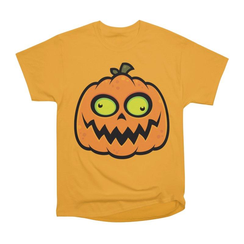 Crazy Pumpkin Men's Classic T-Shirt by Fizzgig's Artist Shop