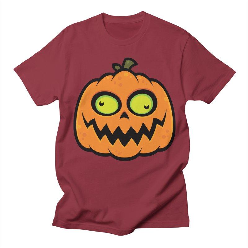 Crazy Pumpkin Women's Unisex T-Shirt by Fizzgig's Artist Shop