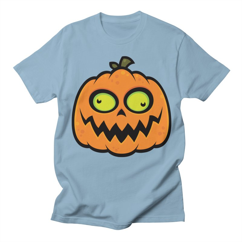 Crazy Pumpkin Men's T-shirt by Fizzgig's Artist Shop