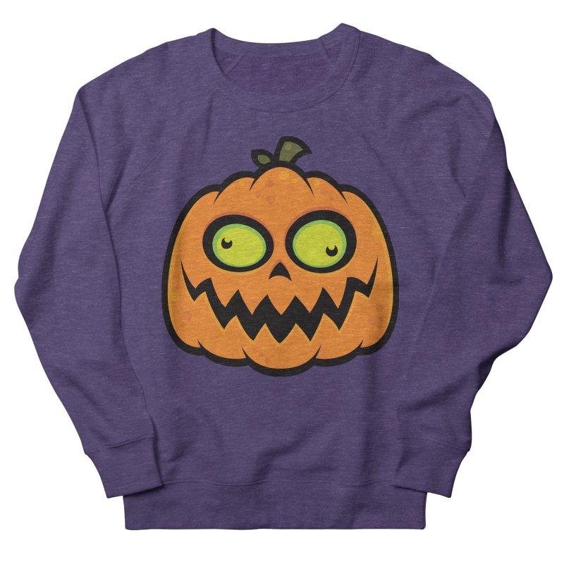 Crazy Pumpkin Women's Sweatshirt by Fizzgig's Artist Shop