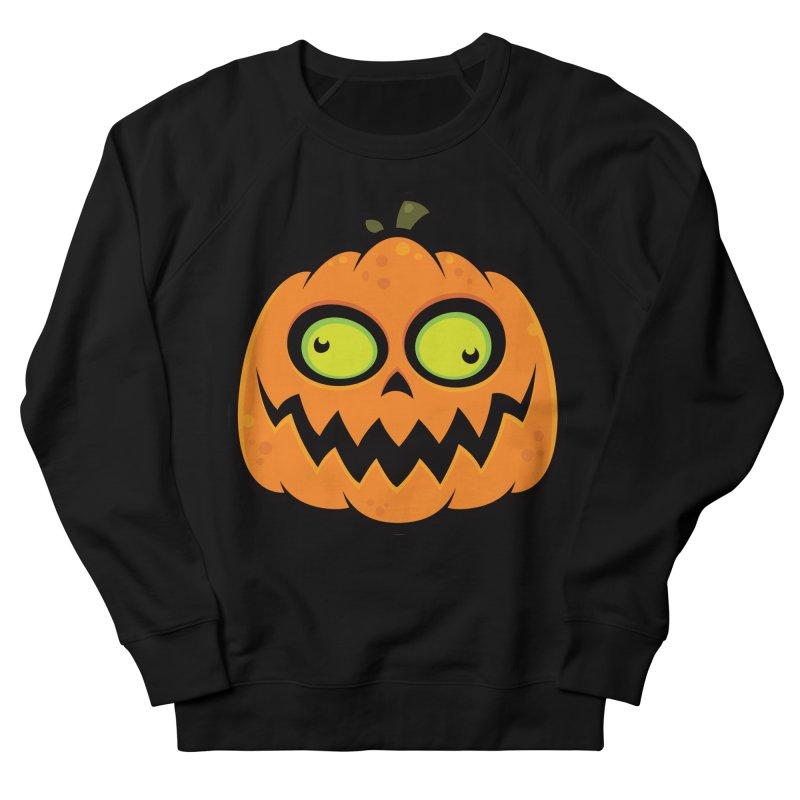 Crazy Pumpkin Men's Sweatshirt by Fizzgig's Artist Shop