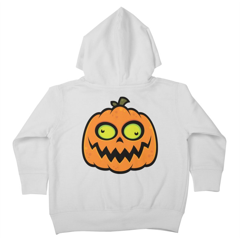 Crazy Pumpkin Kids Toddler Zip-Up Hoody by Fizzgig's Artist Shop