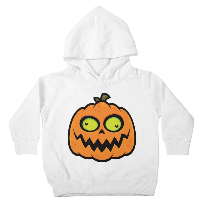 Crazy Pumpkin Kids Toddler Pullover Hoody by Fizzgig's Artist Shop